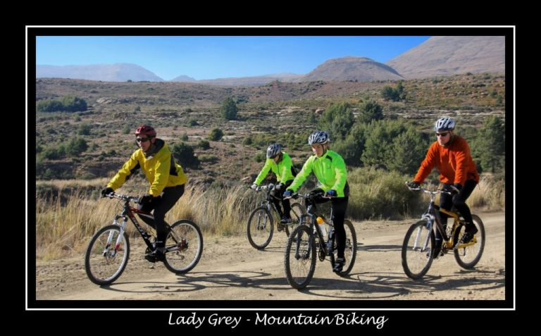 Lady Grey - Mountain Biking