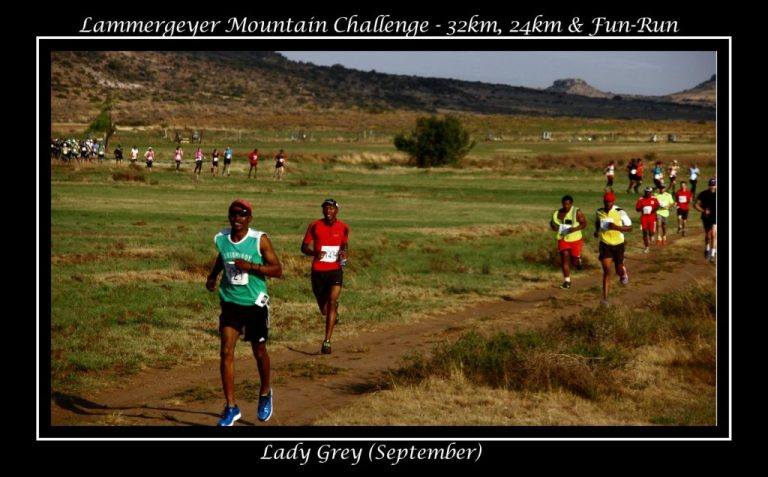 Lammergeyer Mountain Challenge - 32km, 24km & Fun-Run (September)