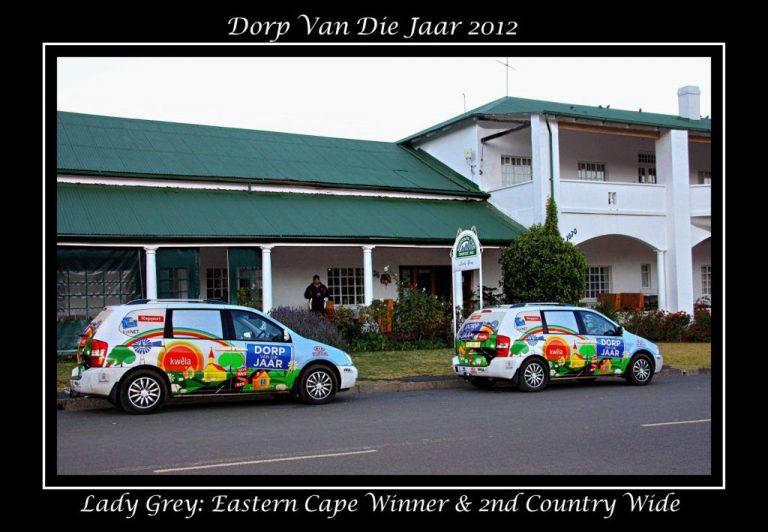 Lady Grey: Eastern Cape Winner & 2nd Country Wide