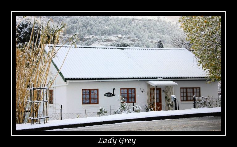 Snow in Lady Grey, Eastern Cape, South Africa